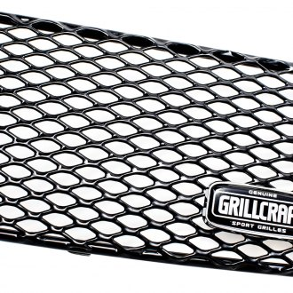 GrillCraft® - 1-Pc MX Series Black Fine Mesh Grille