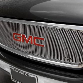 GrillCraft® - 1-Pc MX Series Silver Powder Coated Fine Mesh Main Grille
