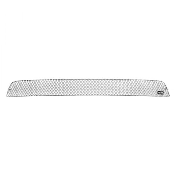 Grillcraft® - 1-Pc MX Series Silver Powder Coated Fine Mesh Bumper Grille