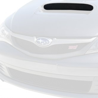 GrillCraft® - 1-Pc MX Series Black Fine Mesh Hood Scoop Grille