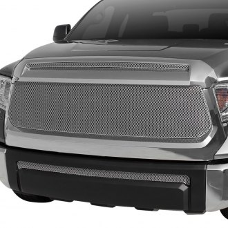 GrillCraft® - 3-Pc MX Series Silver Powder Coated Fine Mesh Grille