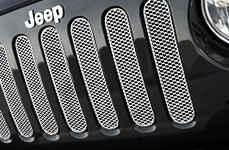 GrillCraft® - Jeep Wrangler Custom Mesh Grille