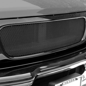 GrillCraft® - 1-Pc MX Series Black Fine Mesh Main Grille