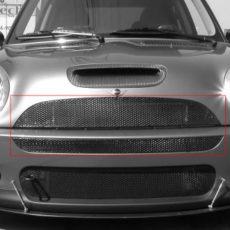 GrillCraft® - 2-Pc MX Series Black Fine Mesh Main Grille