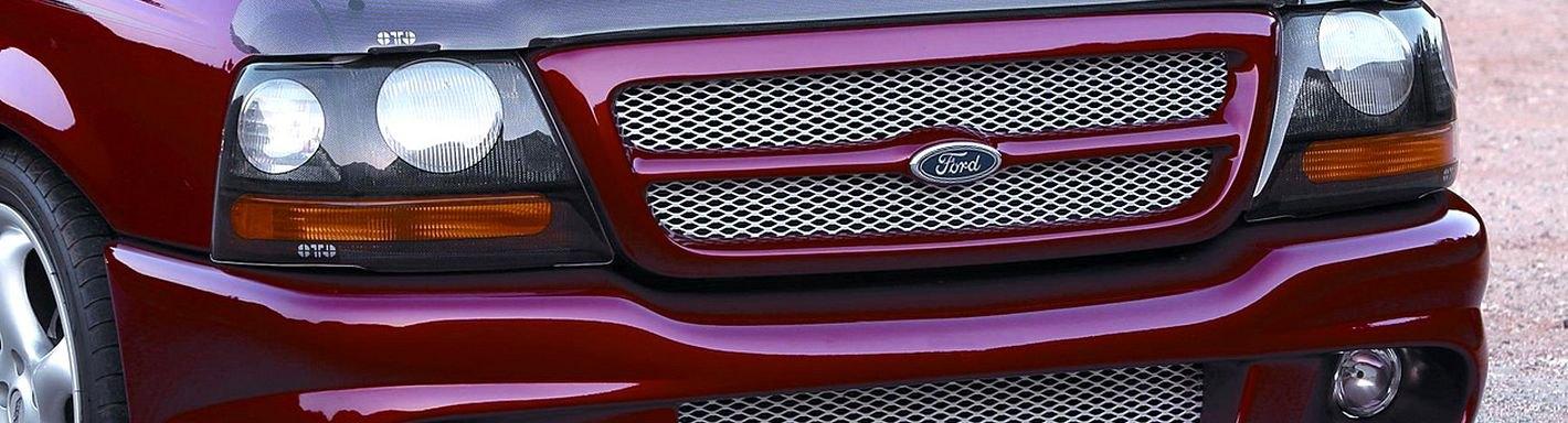 2001 ford ranger custom grilles billet mesh led chrome black 2001 ford ranger custom grilles