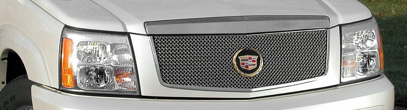 2004 cadillac escalade custom grilles billet mesh led chrome black 2004 cadillac escalade custom grilles