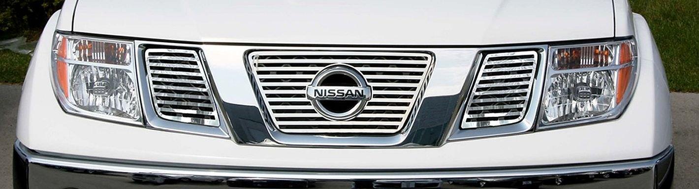 2007 nissan frontier custom grilles billet mesh led chrome black 2007 nissan frontier custom grilles