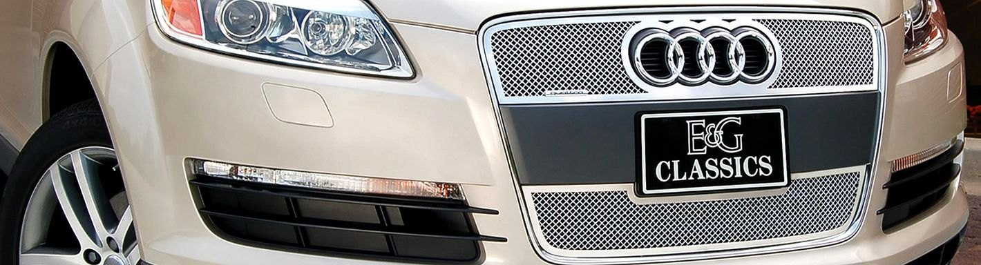 NEW Gray Front Grille For 2007-2009 Audi Q7 AU1200121 SHIPS TODAY