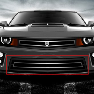 Image may not reflect your exact vehicle! DJ Grilles® - Phantom Urban Edition Mesh Bumper Grille