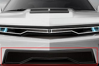 Image may not reflect your exact vehicle! DJ Grilles® - Predator™ Mesh Bumper Grille