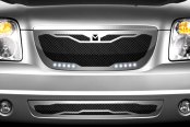 DJ Grilles® - Macaro Mesh Grille with LED Driving Lights