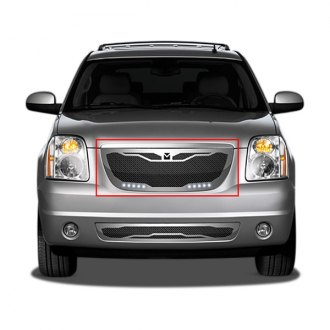 DJ Grilles® - Macaro Mesh Grille Insert with LED Driving Lights