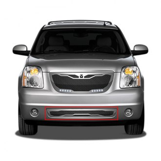 Image may not reflect your exact vehicle! DJ Grilles® - Macaro Mesh Bumper Grille