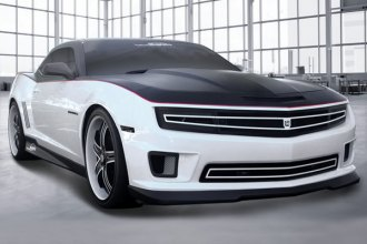 Chevy Camaro DJ Grilles - Phantom Mesh Grille with Headlamp Bezels