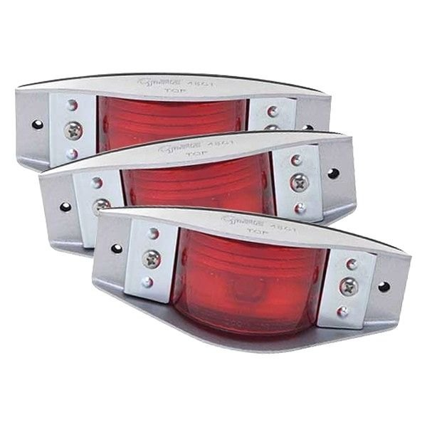 Grote 45012 Red Armored Clearance Marker Light