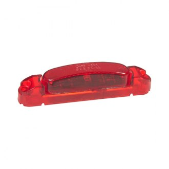"Grote® - SuperNova™ Thin-Line 5""x1"" Rectangular Red LED Side Marker Light"