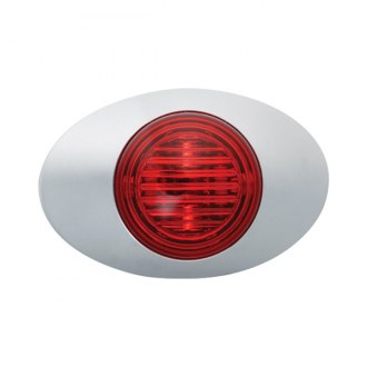 "Grote® - M3 Series 3""x2"" Oval Red LED Side Marker Light"