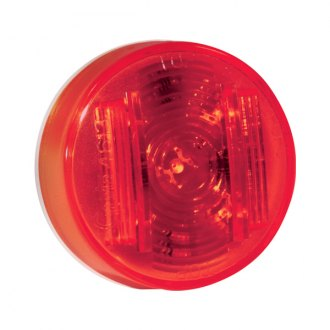 "Grote® - SuperNova™ 2"" Round Red LED Side Marker Light"