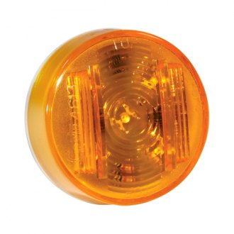 "Grote® - SuperNova™ 2"" Round Amber LED Side Marker Light"