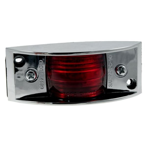Grote® - Chrome-Armored Clearance Marker Light