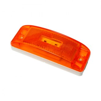 "Grote® - SuperNova™ Turtleback II 6""x2"" Rectangular Amber LED Side Marker Light"