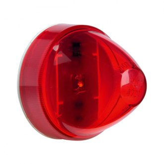 "Grote® - SuperNova™ 2"" Beehive Round Red LED Side Marker Light"