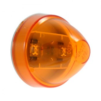 "Grote® - SuperNova™ 2"" Beehive Round Amber LED Side Marker Light"
