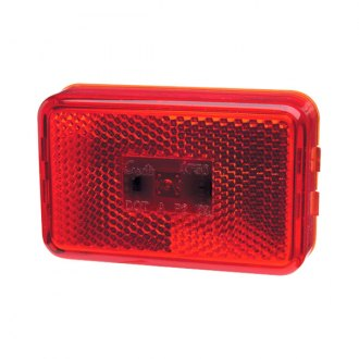 "Grote® - SuperNova™ 3""x2"" Rectangular Red LED Side Marker Light"