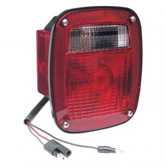 Grote® - Torsion Mount™ Two-Stud Stop/Tail/Turn Light with Side Marker and Molded Pigtail Termination