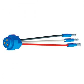 Grote® - Stop/Tail/Turn Three-Wire Plug-In Pigtail
