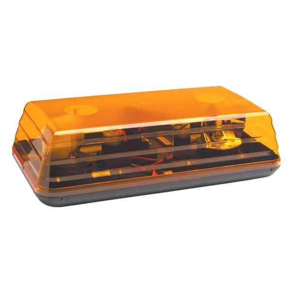 Grote 76813 15 rotating low profile amber beacon light bar grote 15 rotating low profile amber beacon light bar aloadofball Images