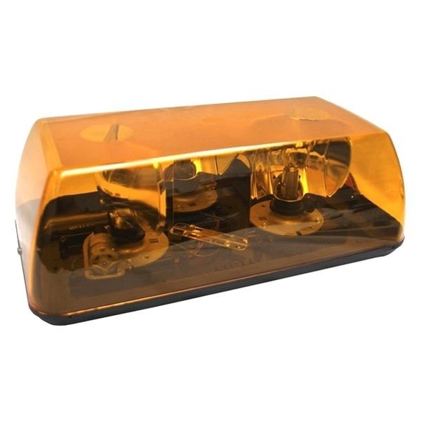 Grote 15 rotating amber beacon light bar grote 15 mini rotating amber beacon light bar aloadofball Images