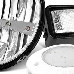 Grote® - LED Whitelight Surface Mount Dome Lights