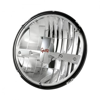 "Grote® - 7"" Chrome LED Sealed Beam Headlight"