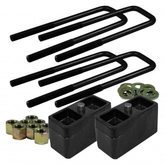 "Ground Force® - 2.0"" Rear Lowering Blocks and U-Bolts"