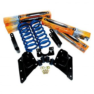 "Ground Force® - 2"" x 4"" Front and Rear Lowering Kit"