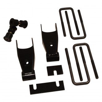 Ground Force® - Rear Lowering Shackle Kit