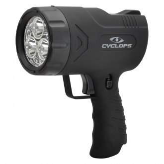 GSM Outdoors® - Cyclops™ Sirius 500 lm Handheld Spotlight