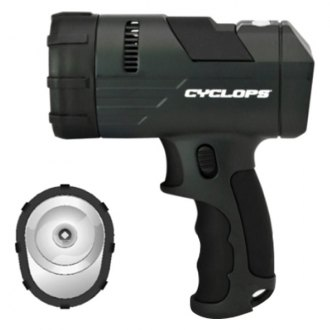 GSM Outdoors® - Cyclops™ Revo Series Handheld Spotlight
