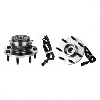GSP North America® - Front Axle Bearing and Hub Assembly