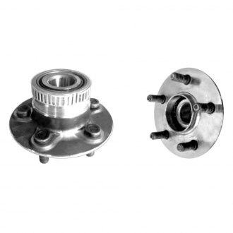 GSP North America® - Rear Axle Bearing and Hub Assembly