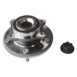 GSP North America® 124286 - Front Axle Bearing and Hub Assembly