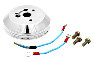 GT Performance® 10-5006 - GT3 GM Late Models Brilliant Polished Aluminum Installation Hub