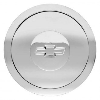 GT Performance® - GT9 Engraved Chevy Bowtie Polished Horn Button