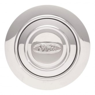 GT Performance® - GT9 Banjo Ford Oval Polished Horn Button