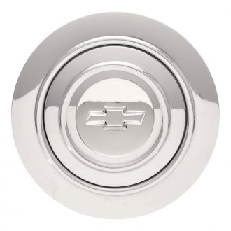 GT Performance® - GT9 Banjo Chevy Bowtie Polished Horn Button