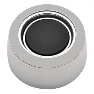 GT Performance® - GT3 Hi-Rise No Logo Brilliant Polished Aluminum Plain Horn Button