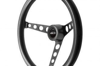 GT Performance® - GT3 Classic Black Spoke Foam Steering Wheel