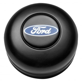GT Performance® - GT3 Standard Ford Oval Black Anodized Horn Button