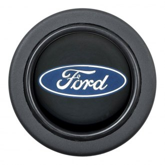 GT Performance® - Euro Ford Oval Black Horn Button